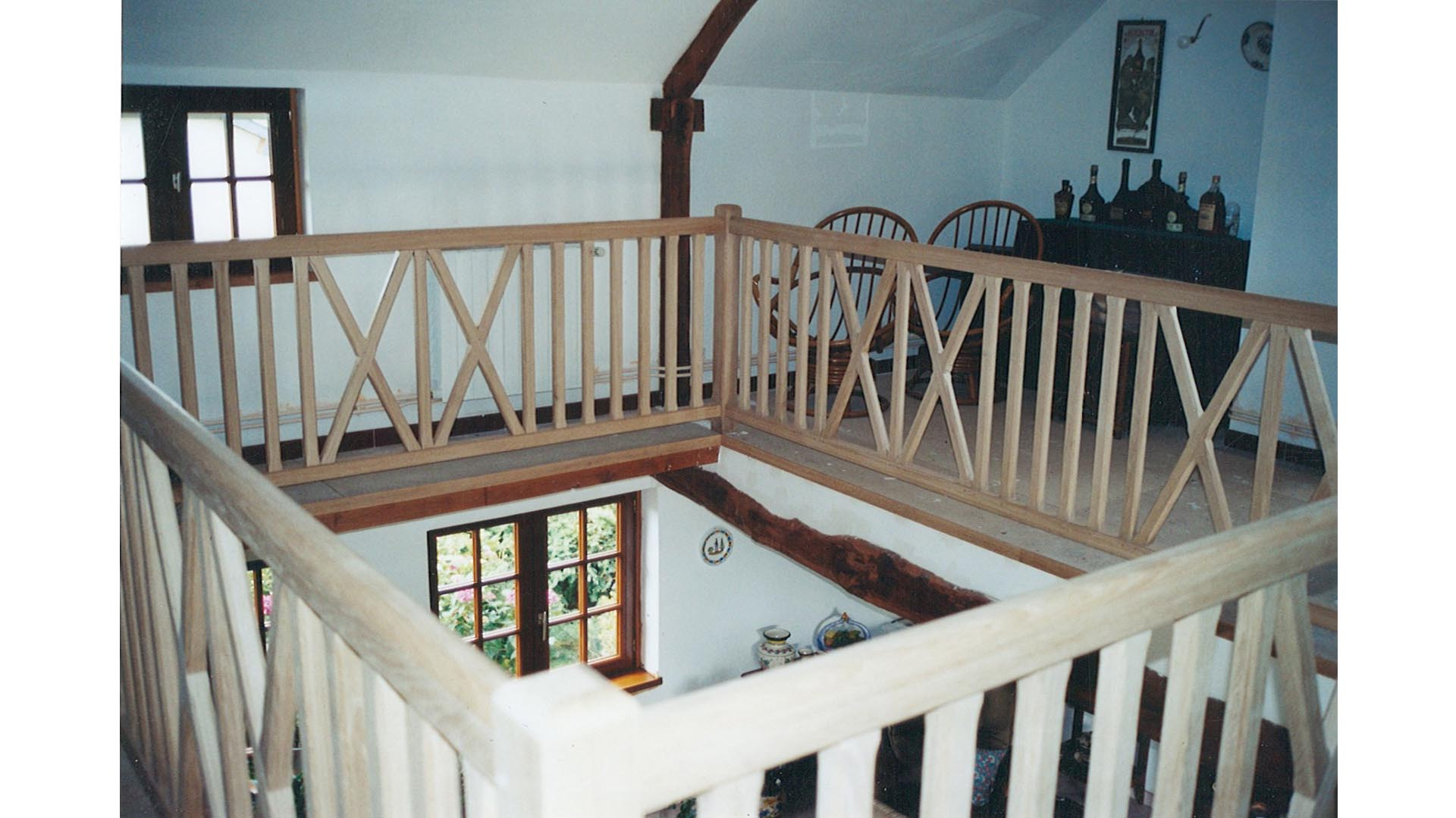 menuiserie orbec fabrication escalier bois